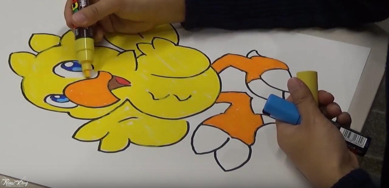 Final Fantasy Art School – Come disegnare un Chocobo