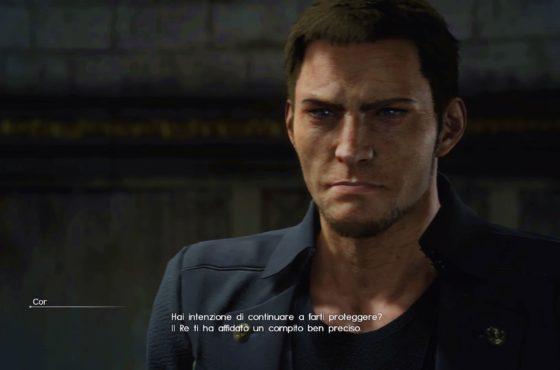 Cor Leonis era un personaggio fisso del party in Final Fantasy Versus XIII