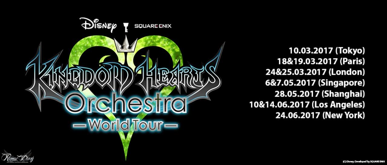 L'album Kingdom Hearts Orchestra -World Tour- approda su Youtube