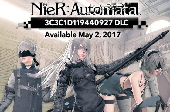Action figures e data del DLC di NieR: Automata!