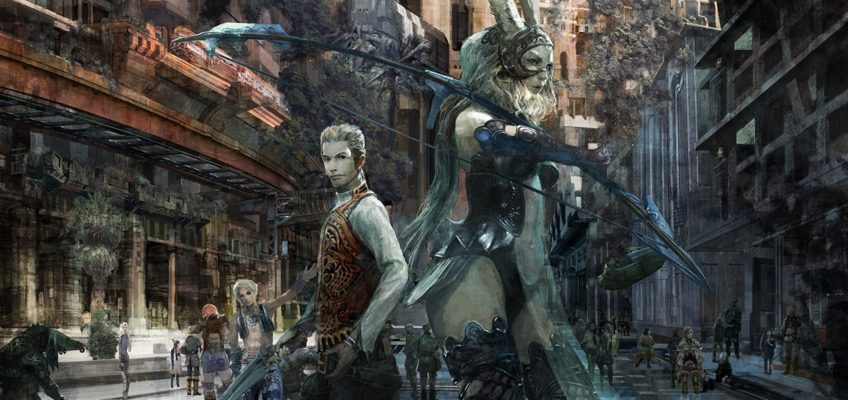 La nuova key art di Final Fantasy XII: The Zodiac Age ad alta risoluzione!