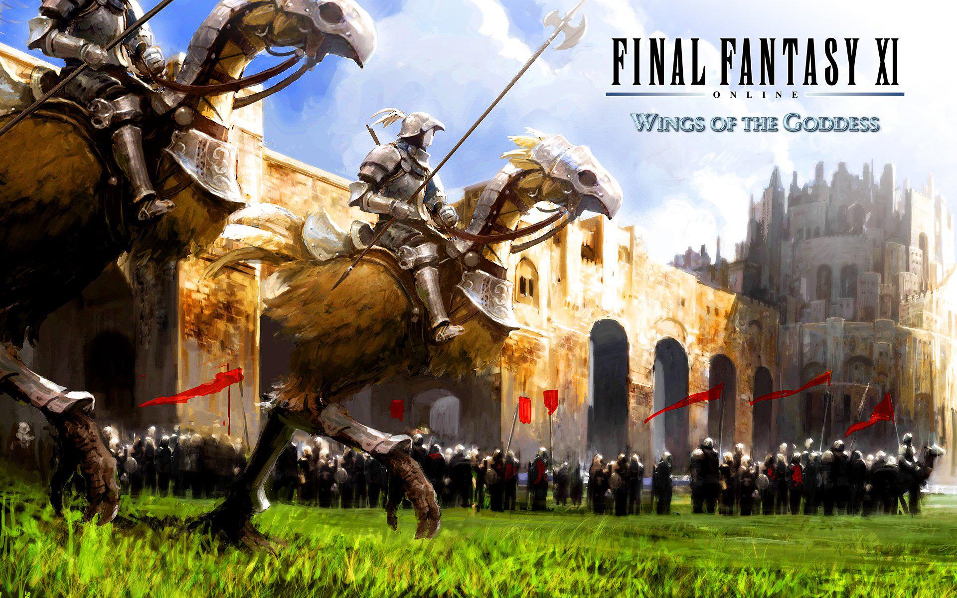 Final Fantasy XI compie 16 anni e la sua versione Mobile procede a gonfie vele!