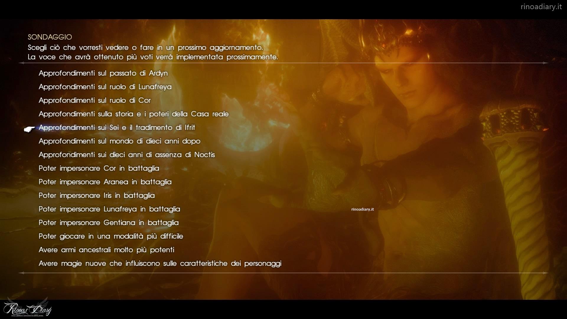 Tabata pensa ad un secondo Season Pass per Final Fantasy XV, a Novembre in arrivo la nuova roadmap