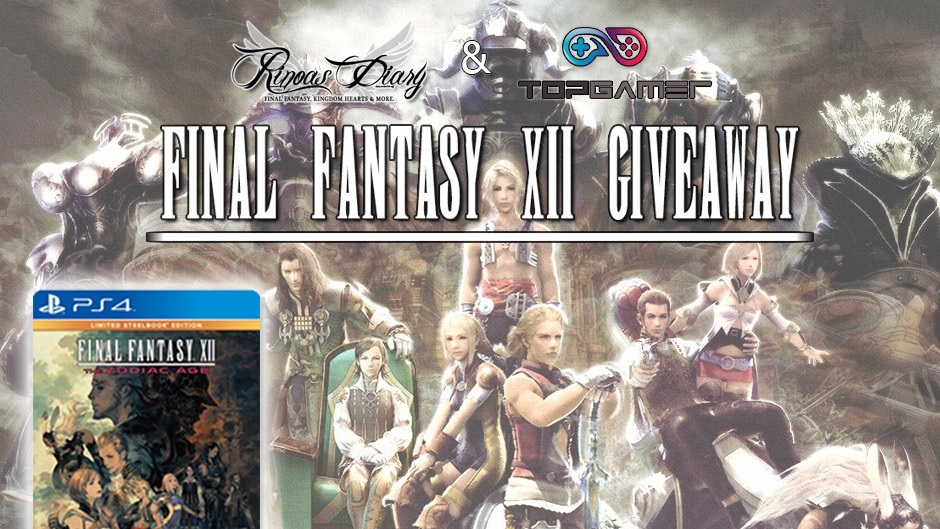 Giveaway – In regalo la Limited Steelbook Edition di Final Fantasy XII: The Zodiac Age!