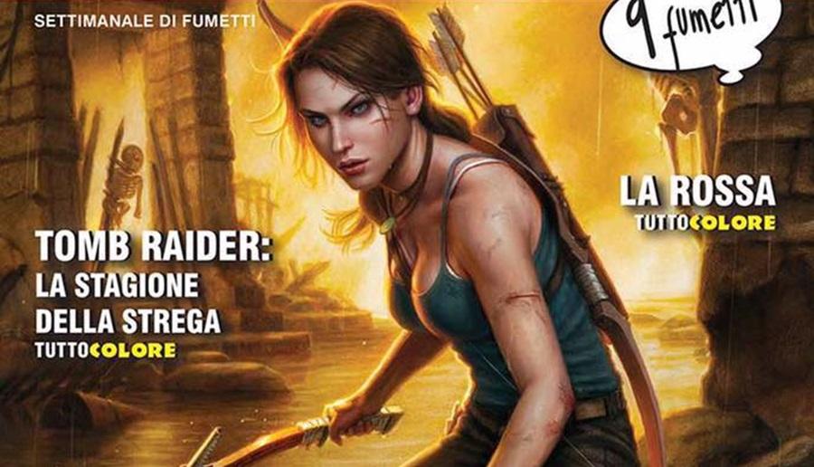 Pubblicato il primo fumetto di Tomb Raider da Editoriale Aurea!