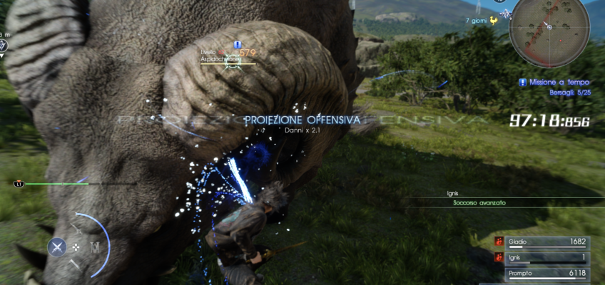 Nuova caccia a tempo contro gli Aspidocheloni in Final Fantasy XV!
