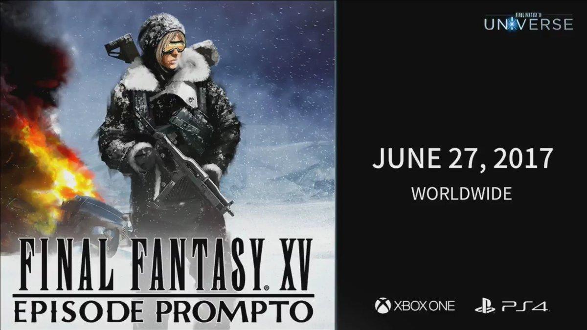 """Sei minuti di gameplay di """"Episode Prompto"""" mostrati all'E3 2017!"""