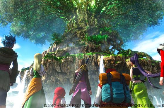 Dragon Quest XI: Echoes of an Elusive Age in rilascio nel 2018 per l'Occidente!