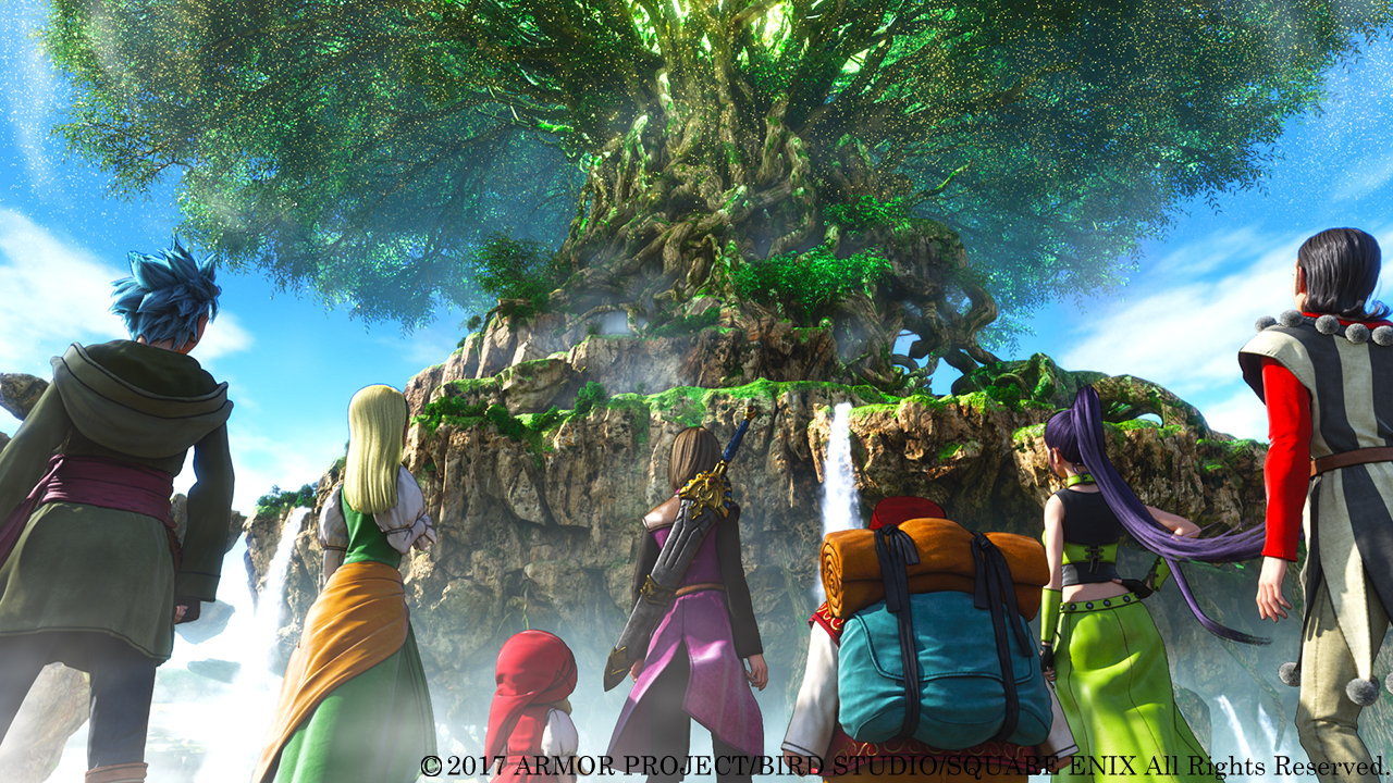 Dragon Quest XI: Echoes of an Elusive Age in rilascio nel 2018 per l'Occidente!