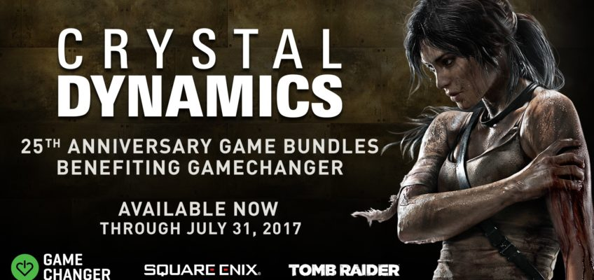 Crystal Dynamics festeggia 25 anni con nuovi game bundle!