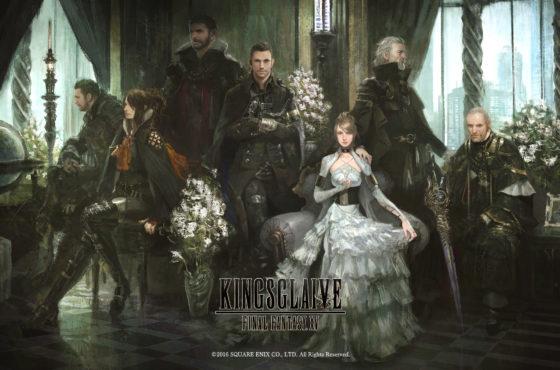 Il nuovo artwork di Kingsglaive: Final Fantasy XV in alta definizione!