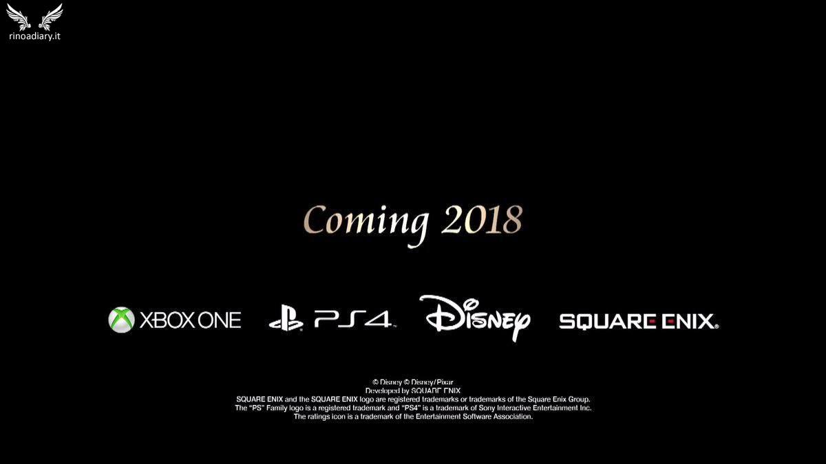 Kingdom Hearts arriverà nel 2018, annunciato il mondo di Toy Story!