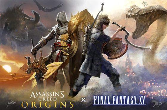 Assassin's Festival: rivelato DLC gratuito di Final Fantasy XV in collaborazione con Ubisoft!