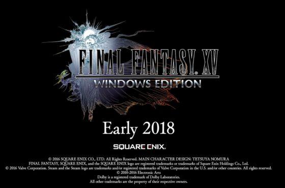 Final Fantasy XV: Windows Edition annunciato!