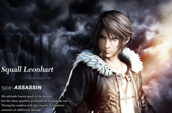 Lista comandi dei personaggi di Dissidia Final Fantasy NT!