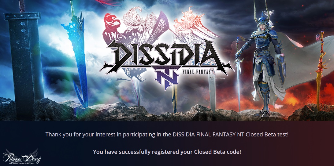 I 14 personaggi della Closed Beta di Dissidia Final Fantasy NT!