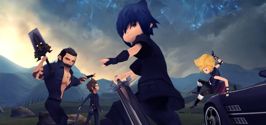 Tutti gli episodi di Final Fantasy XV Pocket Edition saranno disponibili al lancio