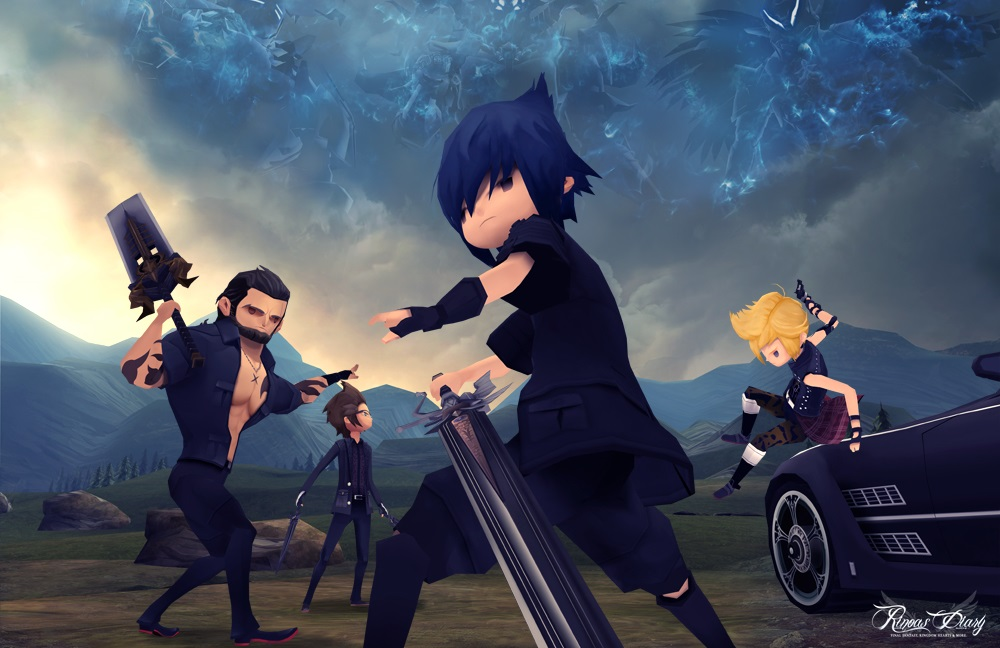 Nuove immagini e render personaggi di Final Fantasy XV Pocket Edition