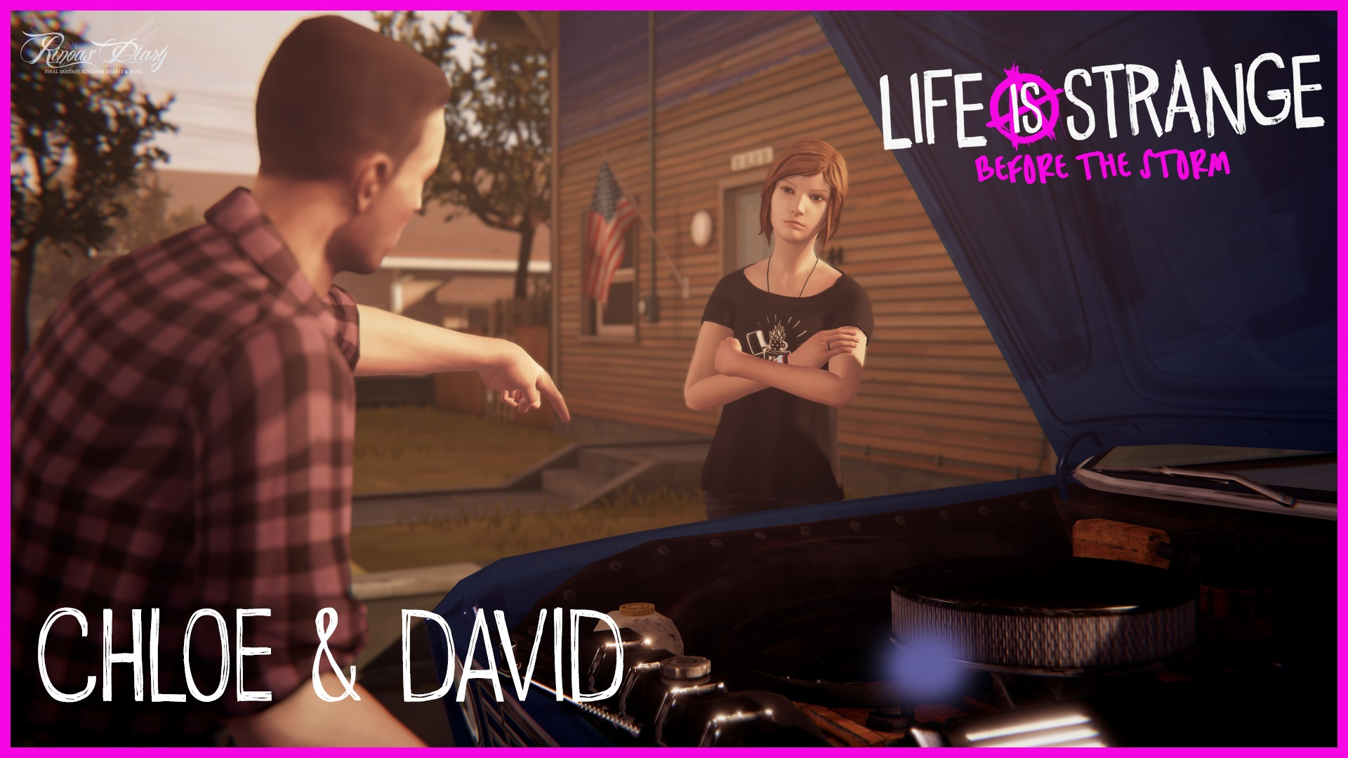 Nuove immagini e video per Life is Strange: Before the Storm – Chloe & David