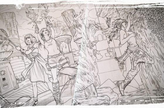Tomb Raider e il National Coloring Book Day 2017