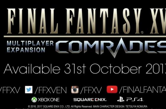 Data di uscita e nuovo trailer di Final Fantasy XV: Comrades!