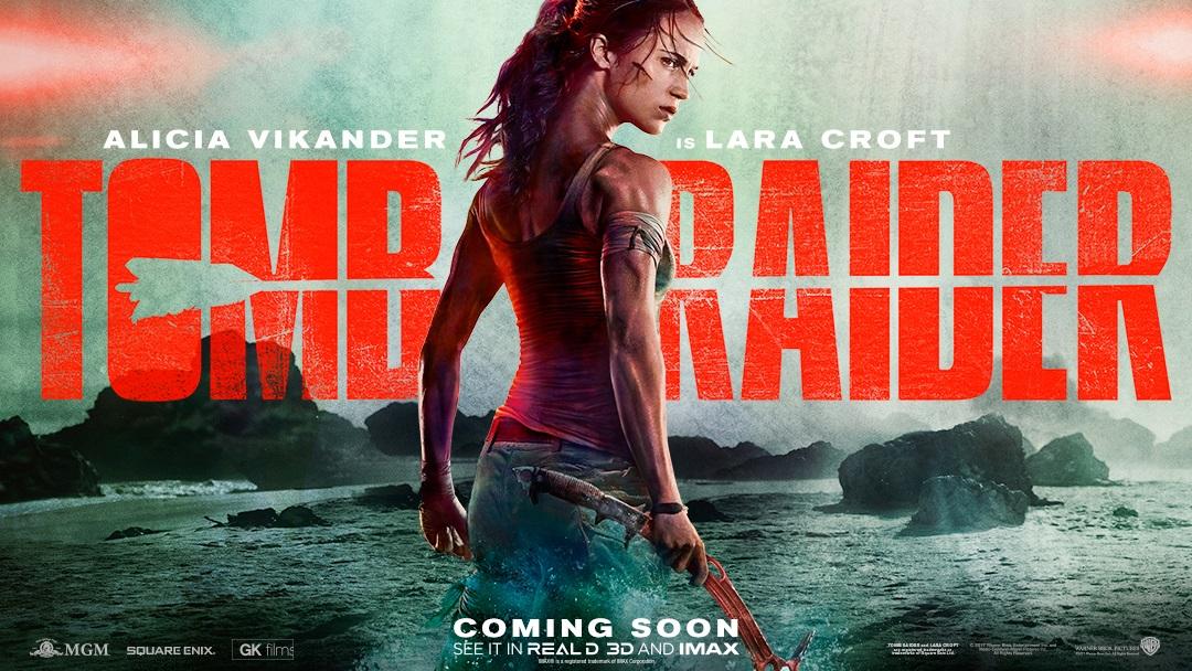 Poster e teaser trailer per il nuovo film Tomb Raider!