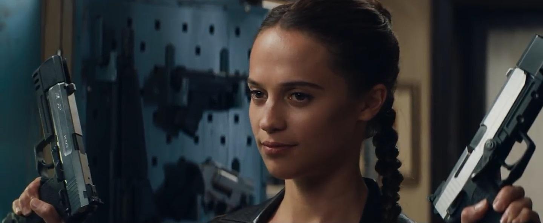 Ecco il trailer ufficiale del film Tomb Raider!