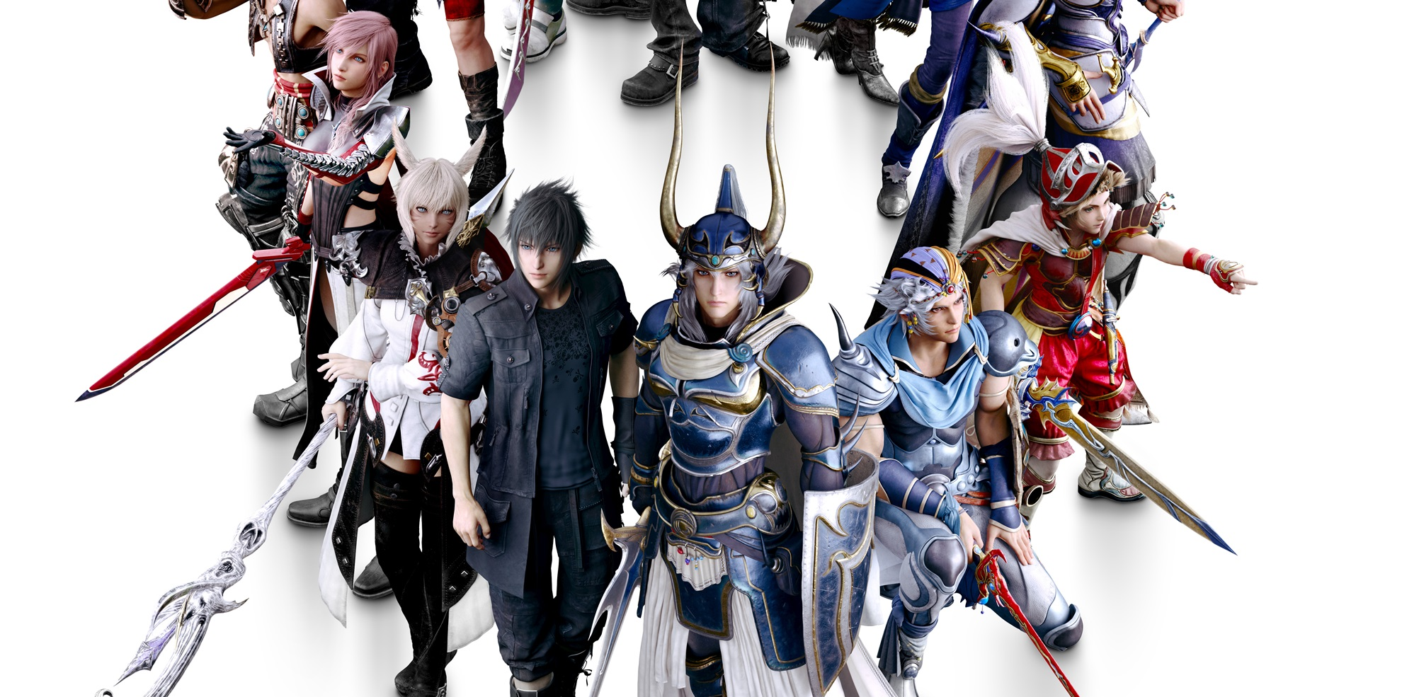 Gli eroi di Dissidia Final Fantasy NT in alta risoluzione!