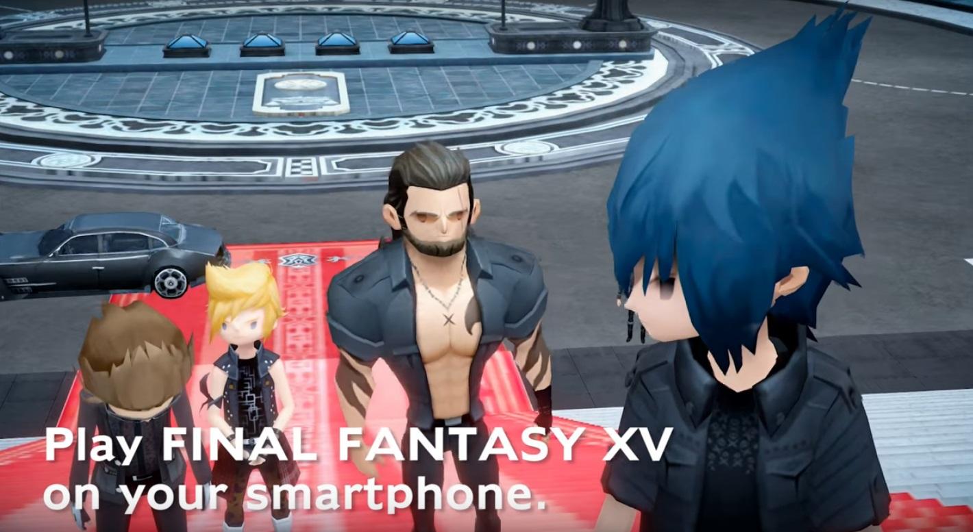 Nuovo trailer e prezzi occidentali per Final Fantasy XV Pocket Edition