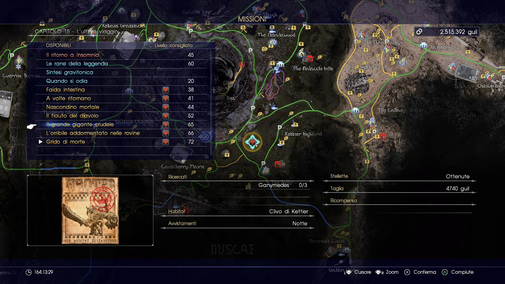 Update 1.18 di Final Fantasy XV disponibile al download: finalmente le cacce multiple!