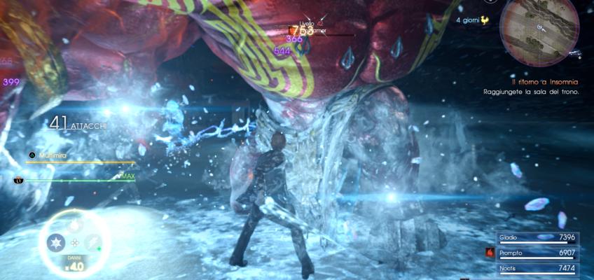 Update 1.20 di Final Fantasy XV disponibile al download: cambio personaggi in battaglia!