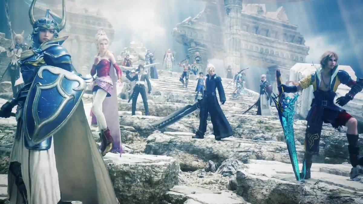 Opening Movie di Dissidia Final Fantasy NT!