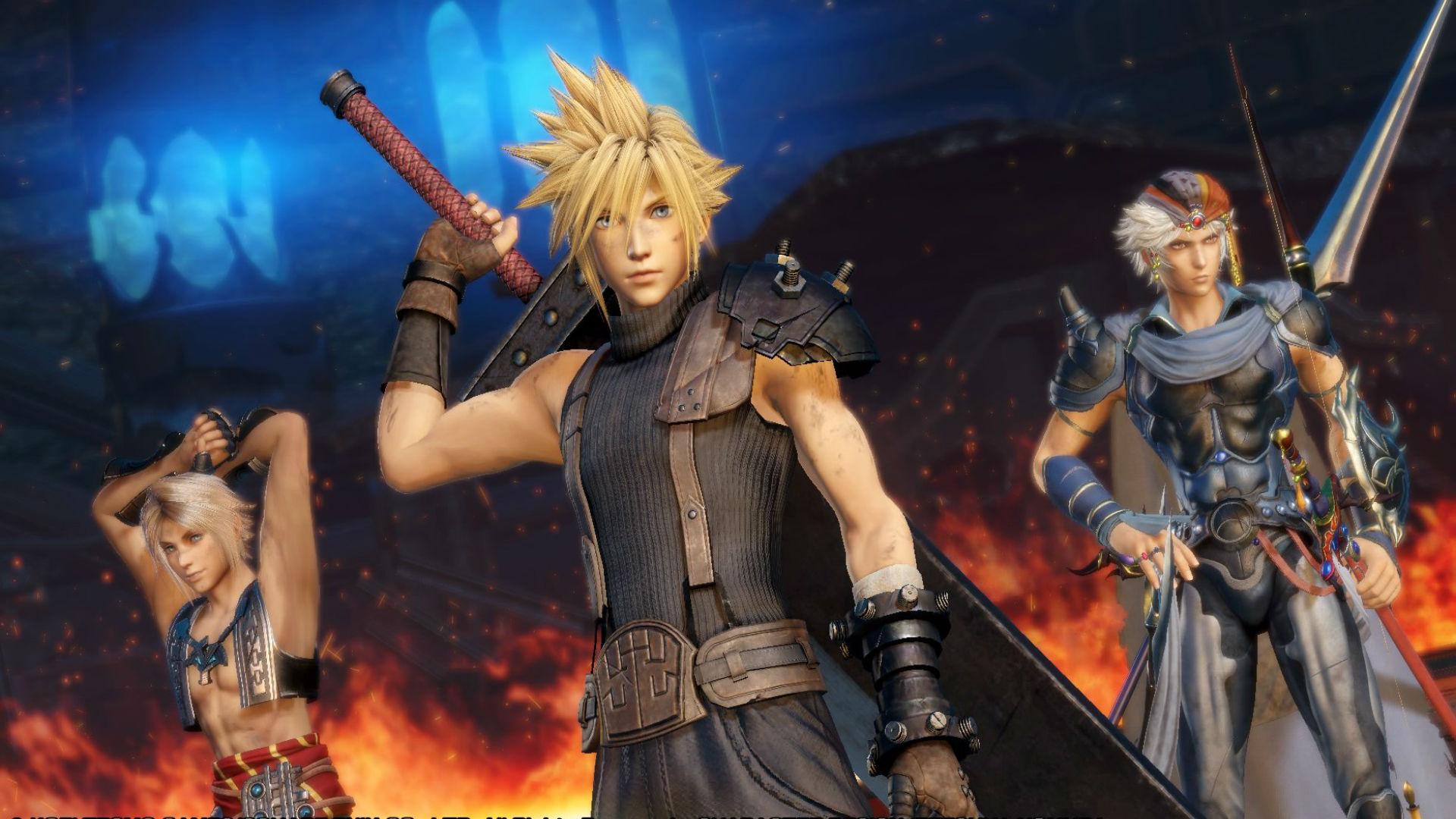 Differenze e novità su Dissidia Final Fantasy NT e Dissidia Arcade!