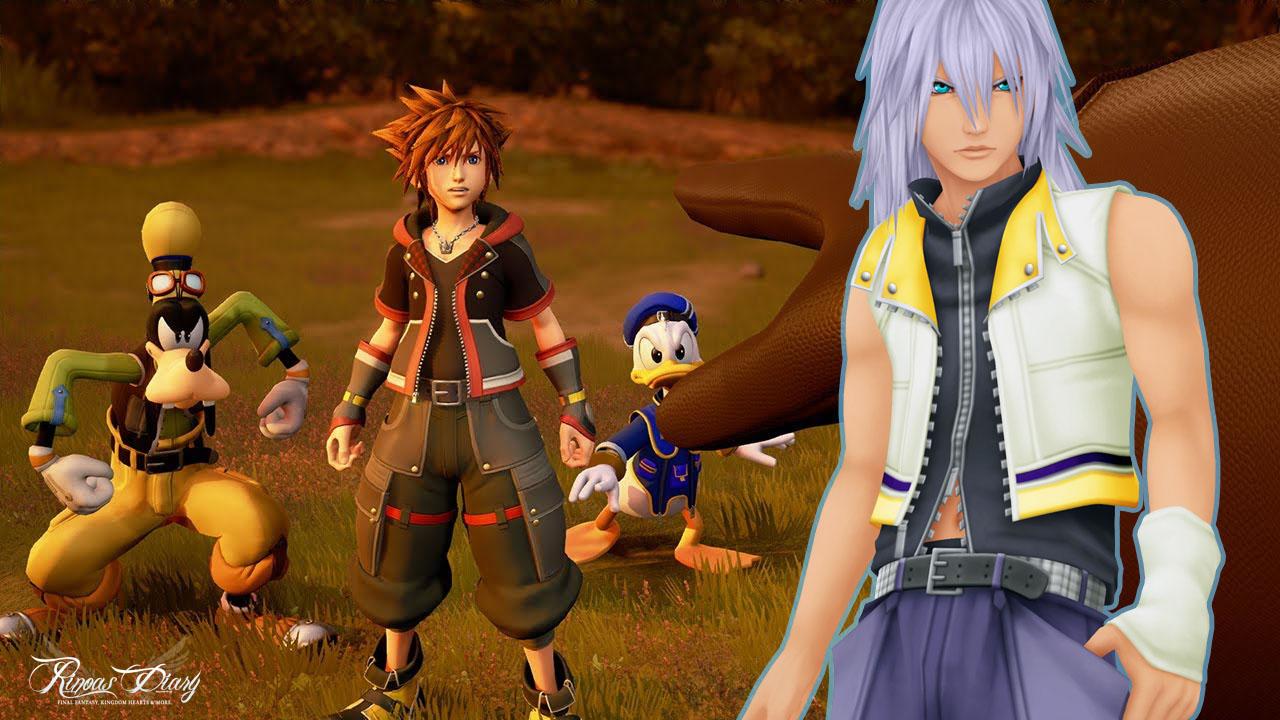 [Rumour] Riku personaggio giocabile in Kingdom Hearts III?