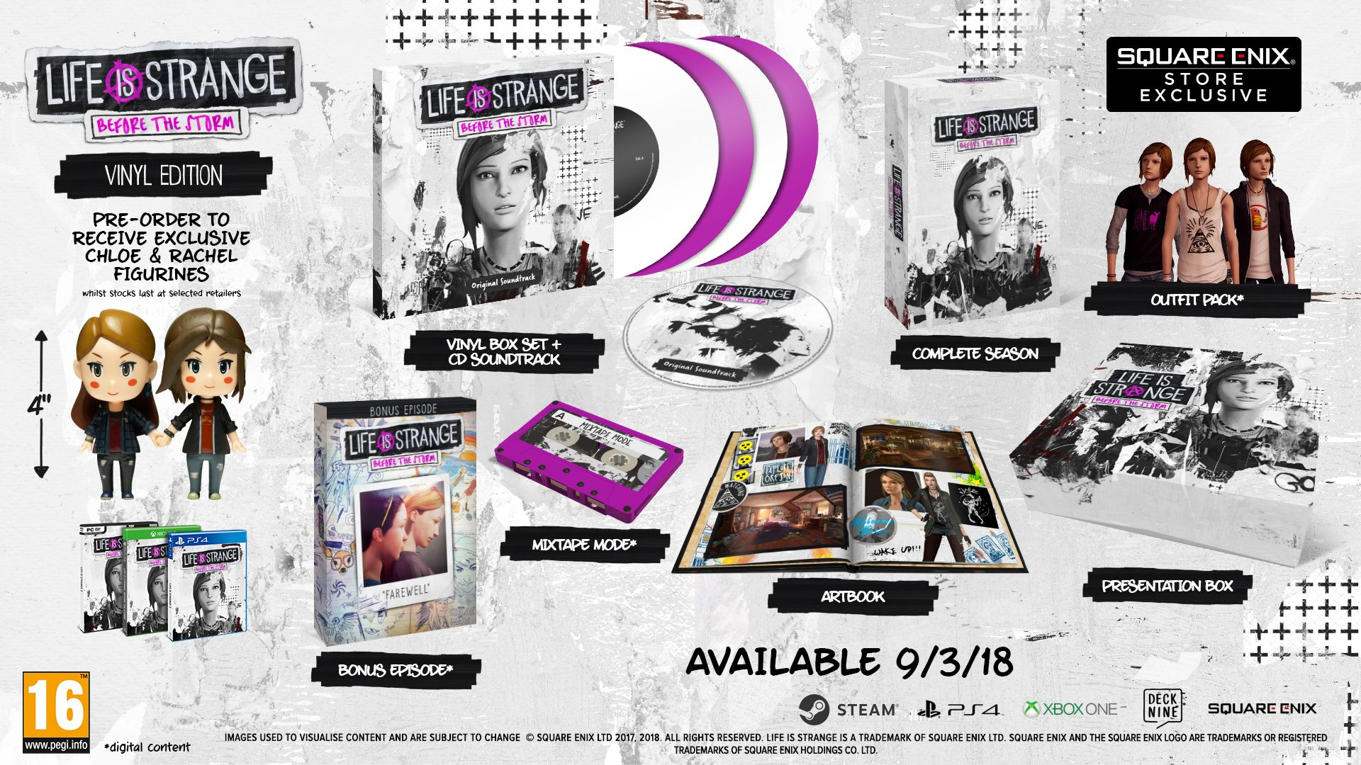 Annunciate le versioni fisiche di Life is Strange: Before the Storm e la data dell'episodio bonus Addio!