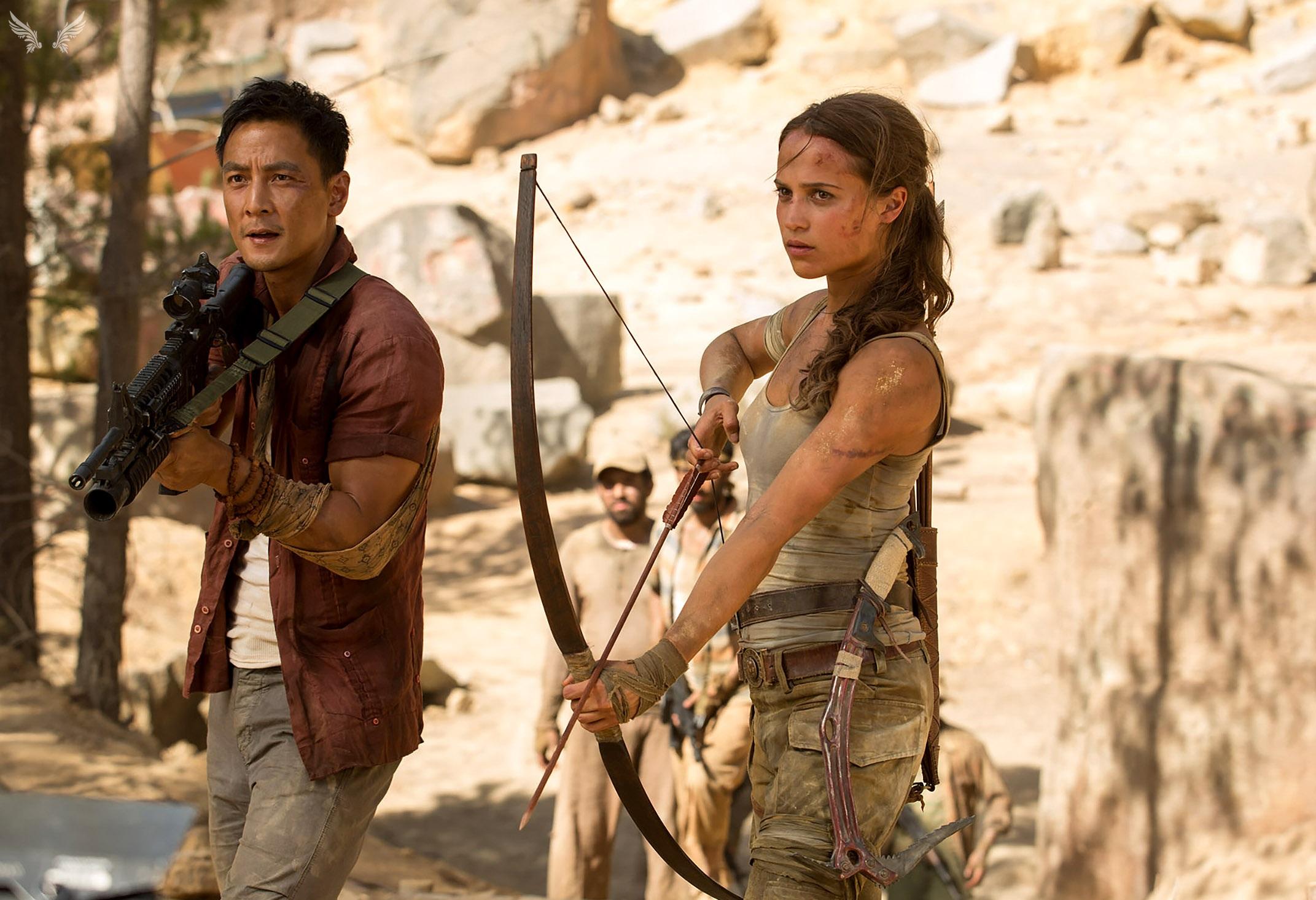 Nuove foto dal set di Tomb Raider!