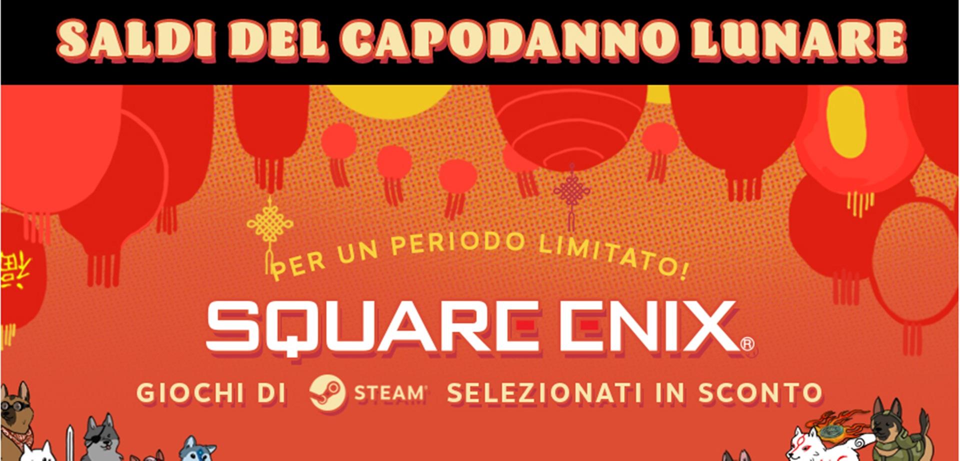 Tomb Raider, Life is Strange e altri titoli Square-Enix in sconto su Steam per il Capodanno Lunare!