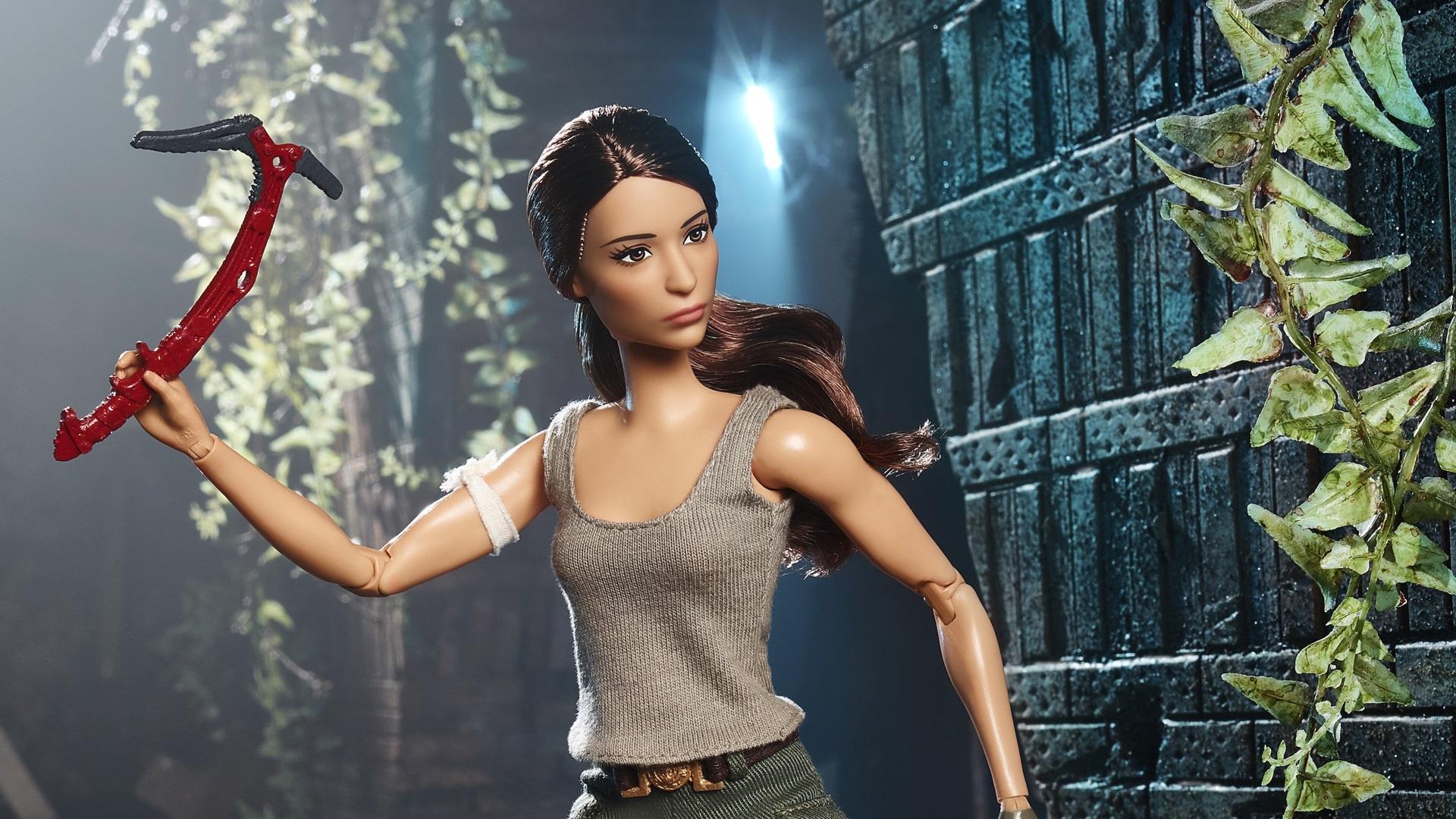 Barbie si rinnova e veste i panni di Lara Croft!