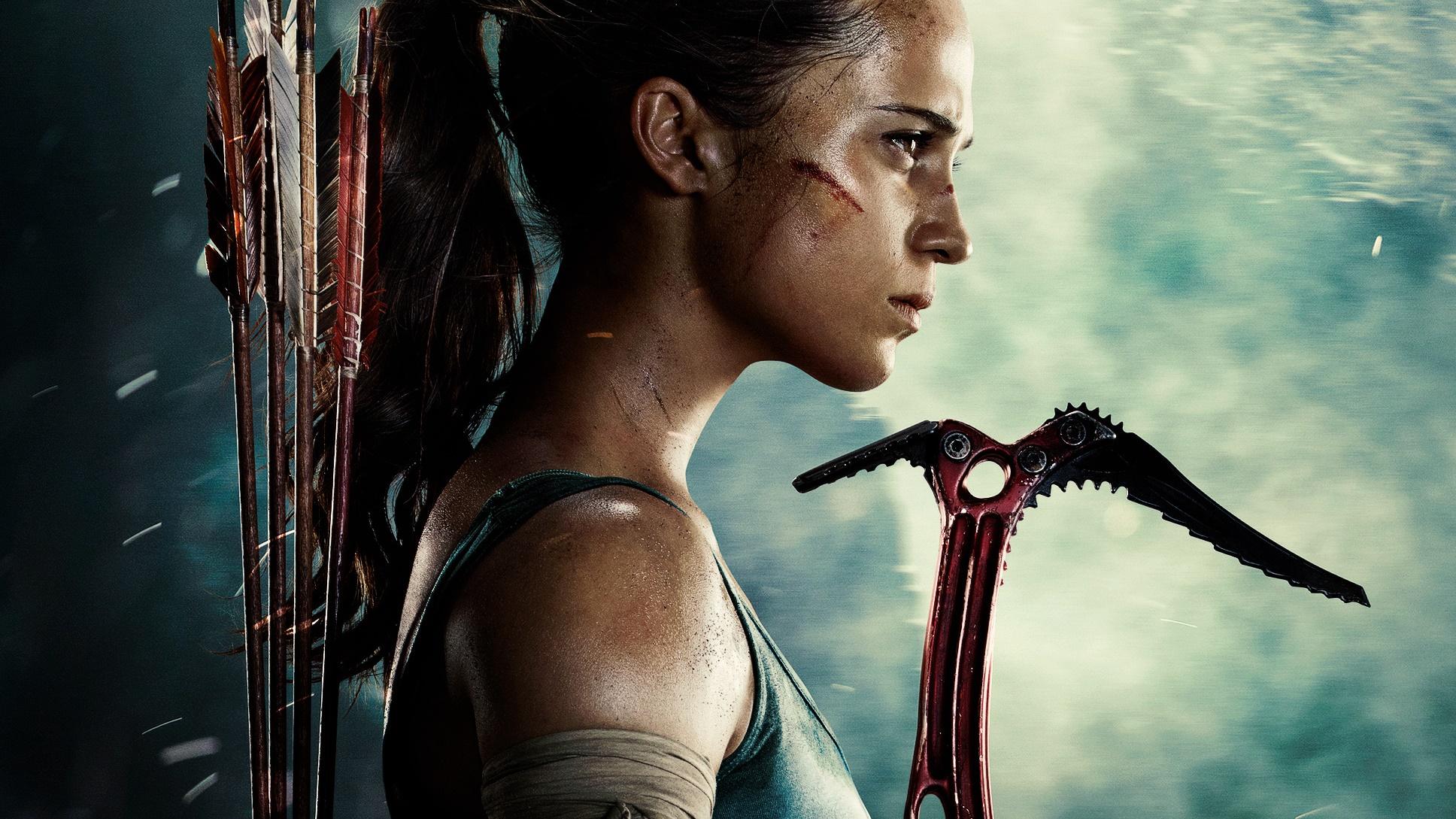Nuova locandina per il film Tomb Raider!