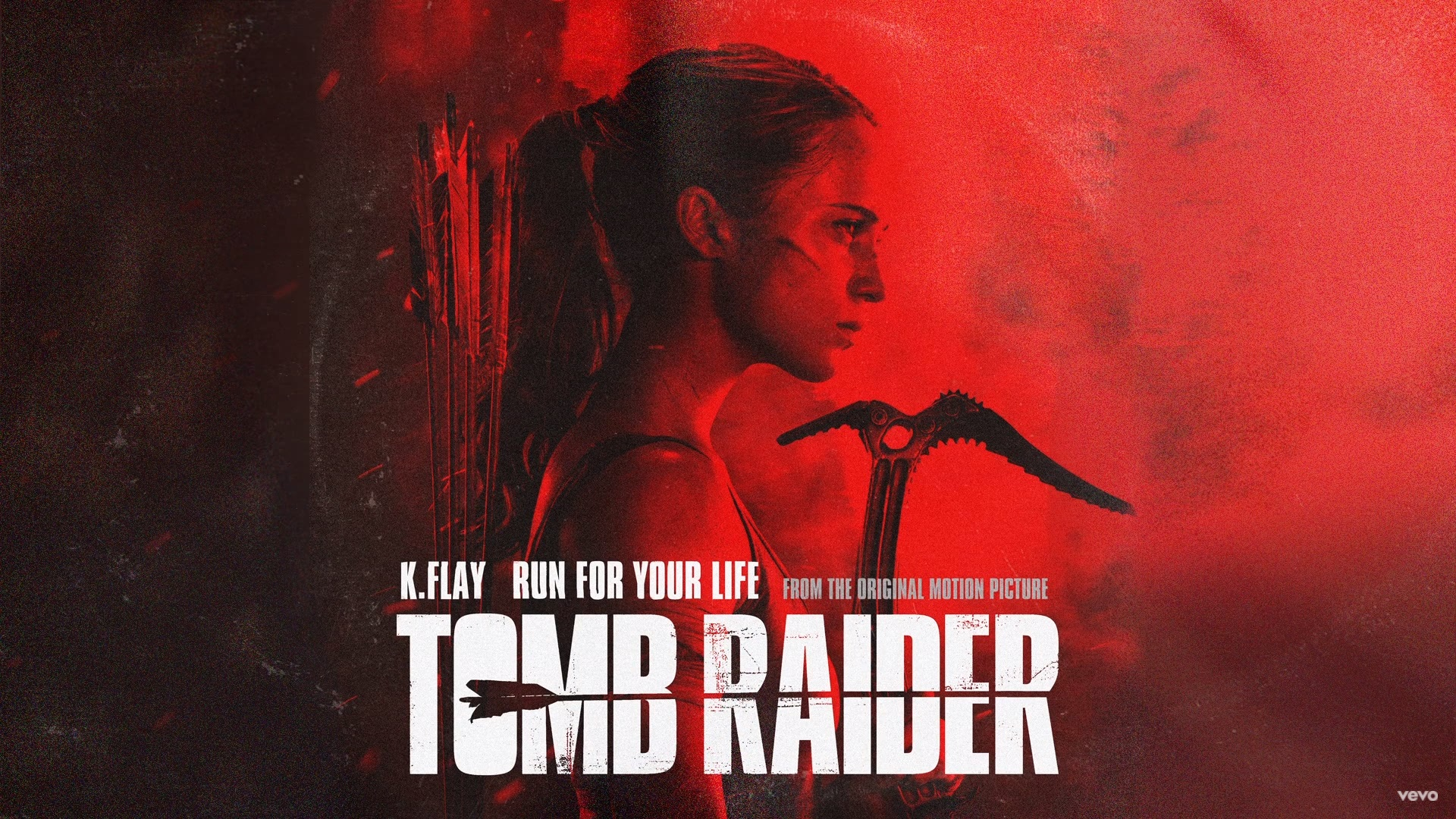 """In anteprima dalla OST del film Tomb Raider, """"Run for your life"""" di K.Flay!"""