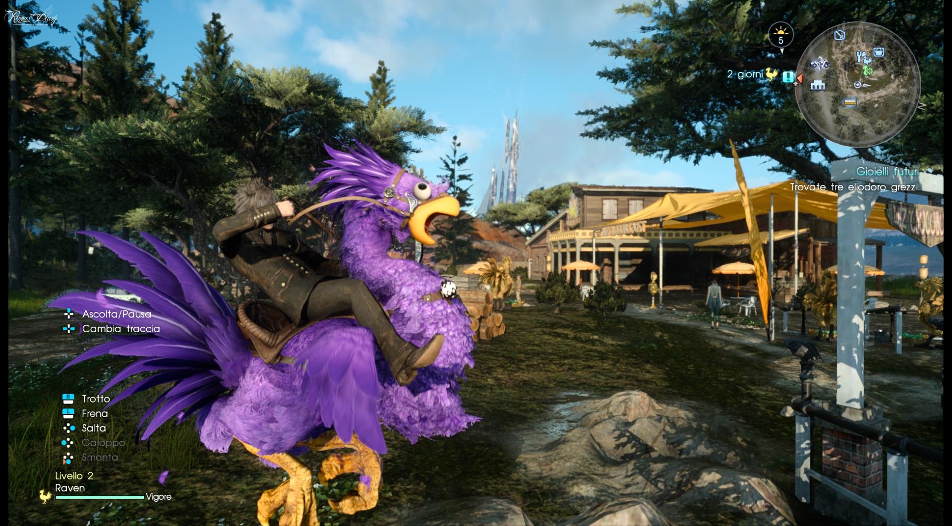 Kooky Chocobo: una nuova mount in Final Fantasy XV per gli utenti Twitch Prime!