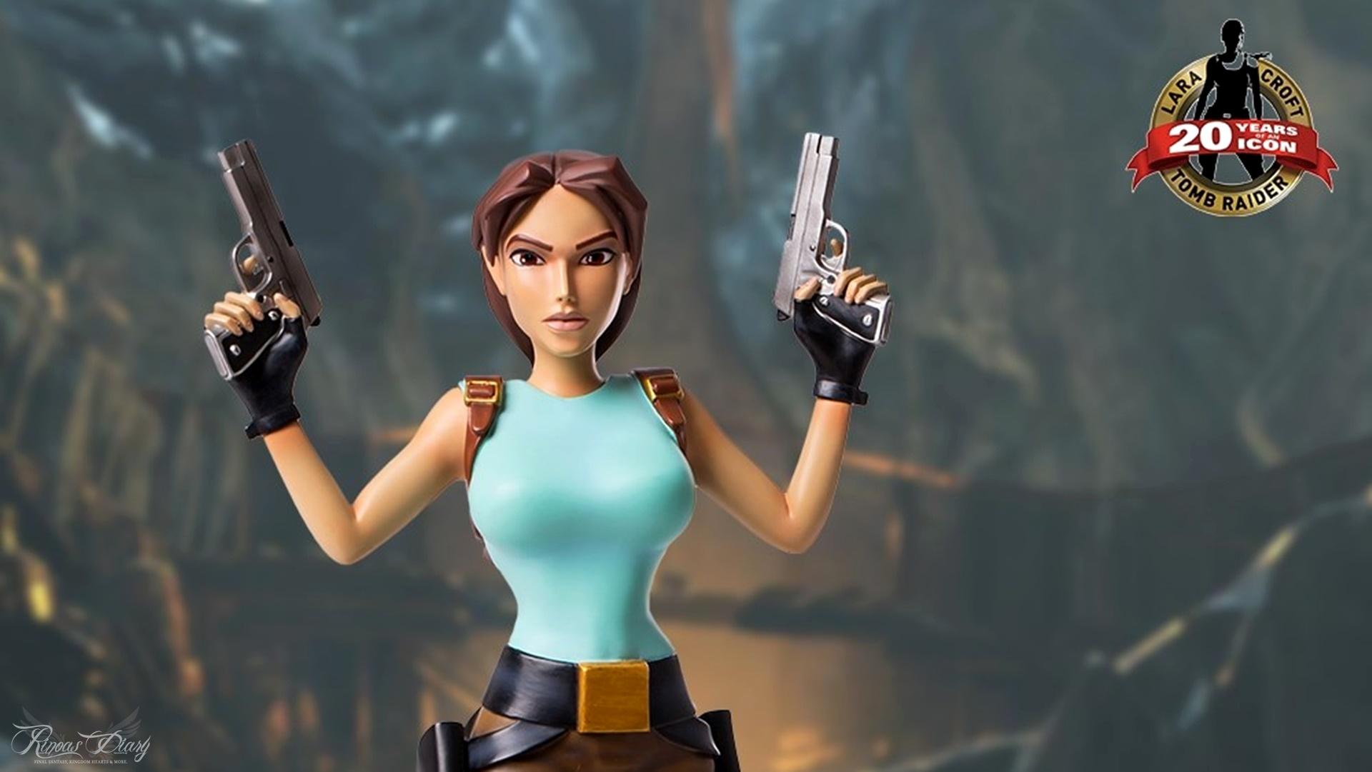 "GamingHeads lancia la statua di Lara Croft ""classica"" in 3 differenti versioni!"