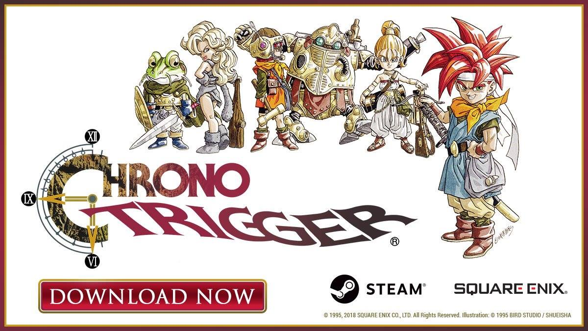 Chrono Trigger su Steam riceve la prima patch correttiva!