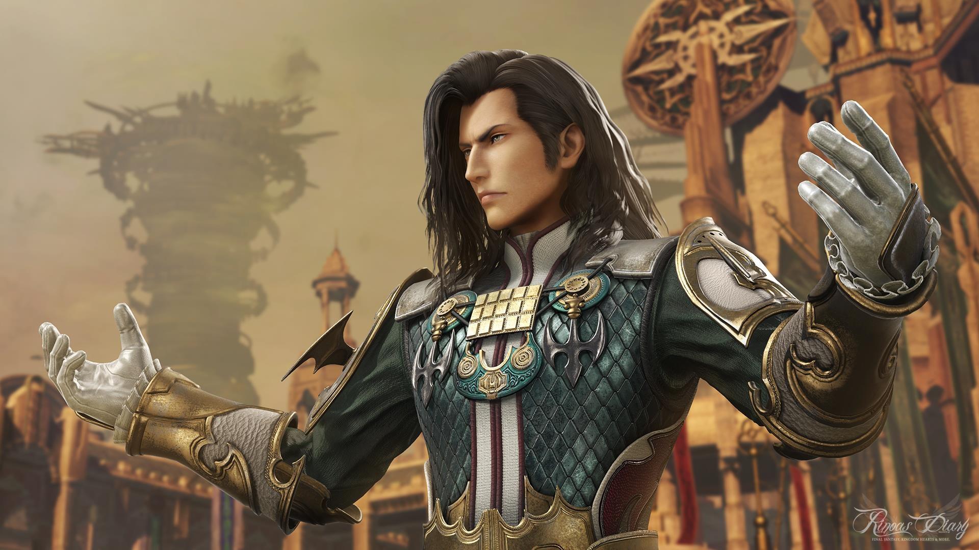 Il primo personaggio del Season Pass di Dissidia Final Fantasy NT è Vayne Solidor da FFXII!