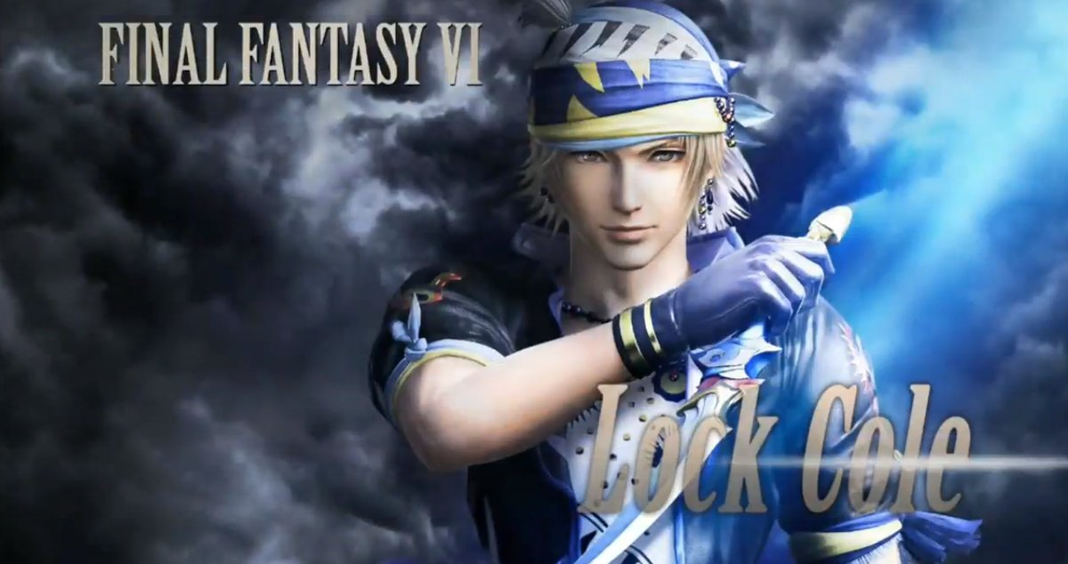 Il secondo personaggio del Season Pass di Dissidia Final Fantasy NT è Locke Cole da FFVI!