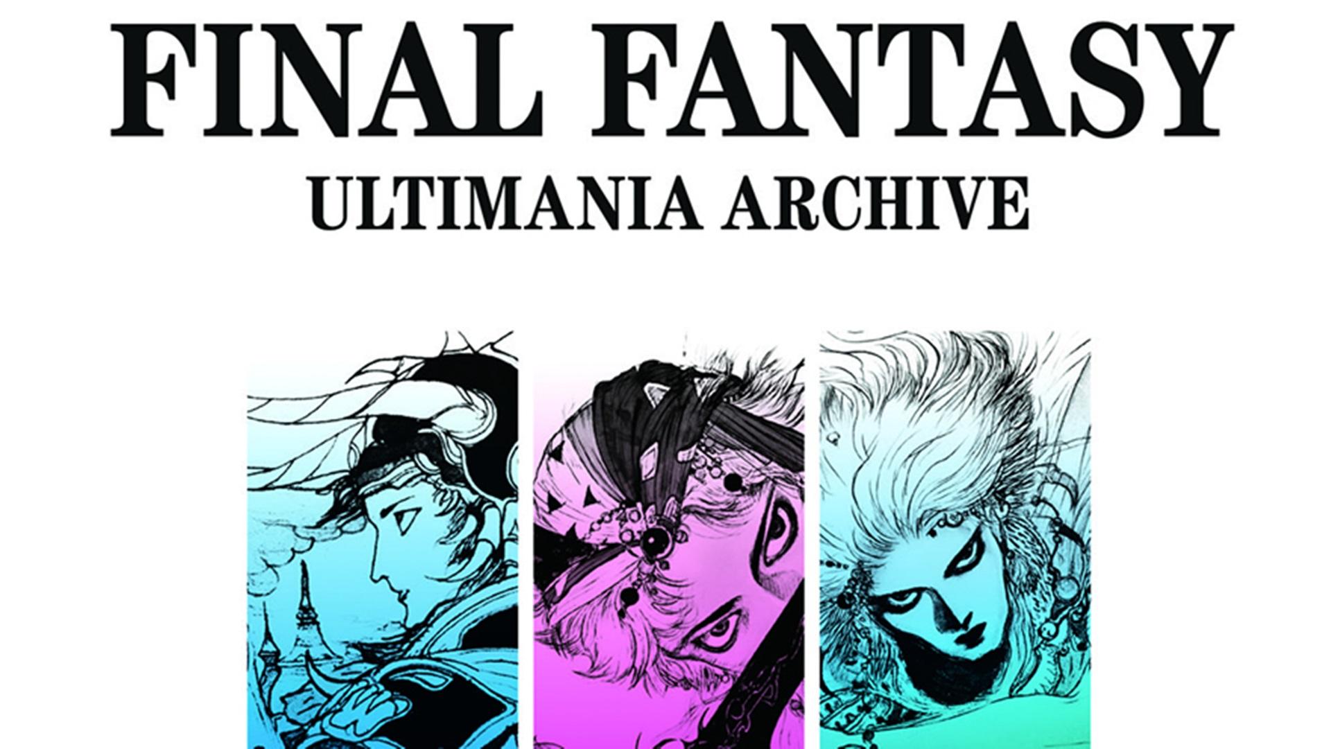 Novità su Final Fantasy Ultimania Archive in lingua inglese!