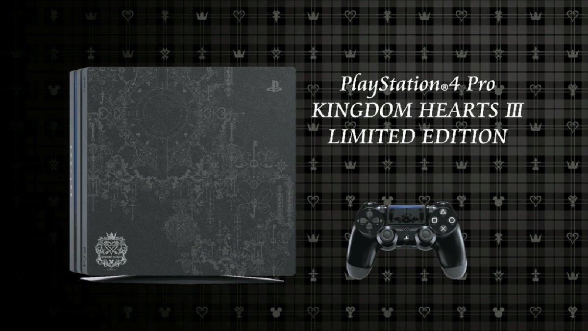 Nuovo trailer di Kingdom Hearts III; confermata una PS4 Pro limitata ed un package all-in-one su PS4!