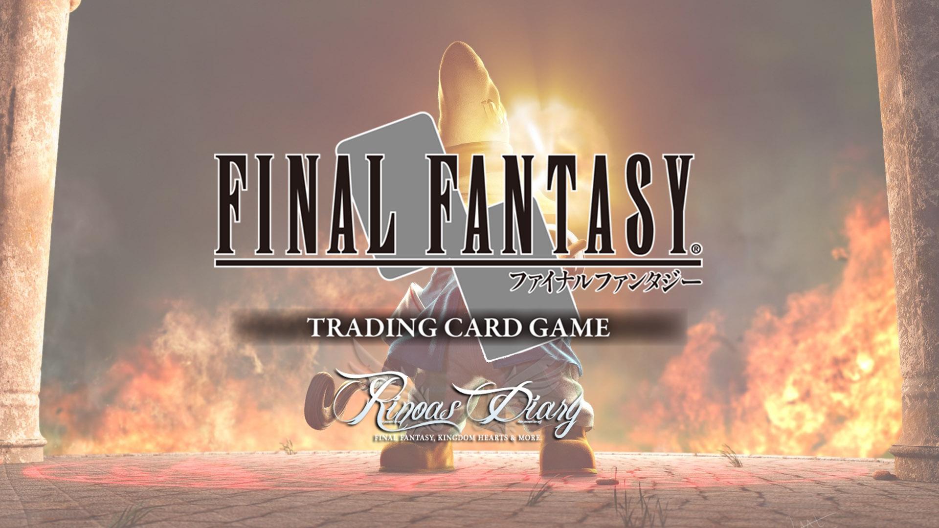 Final Fantasy Trading Card Game – il Diary vi presenta in anteprima assoluta una nuova carta di Opus VI!