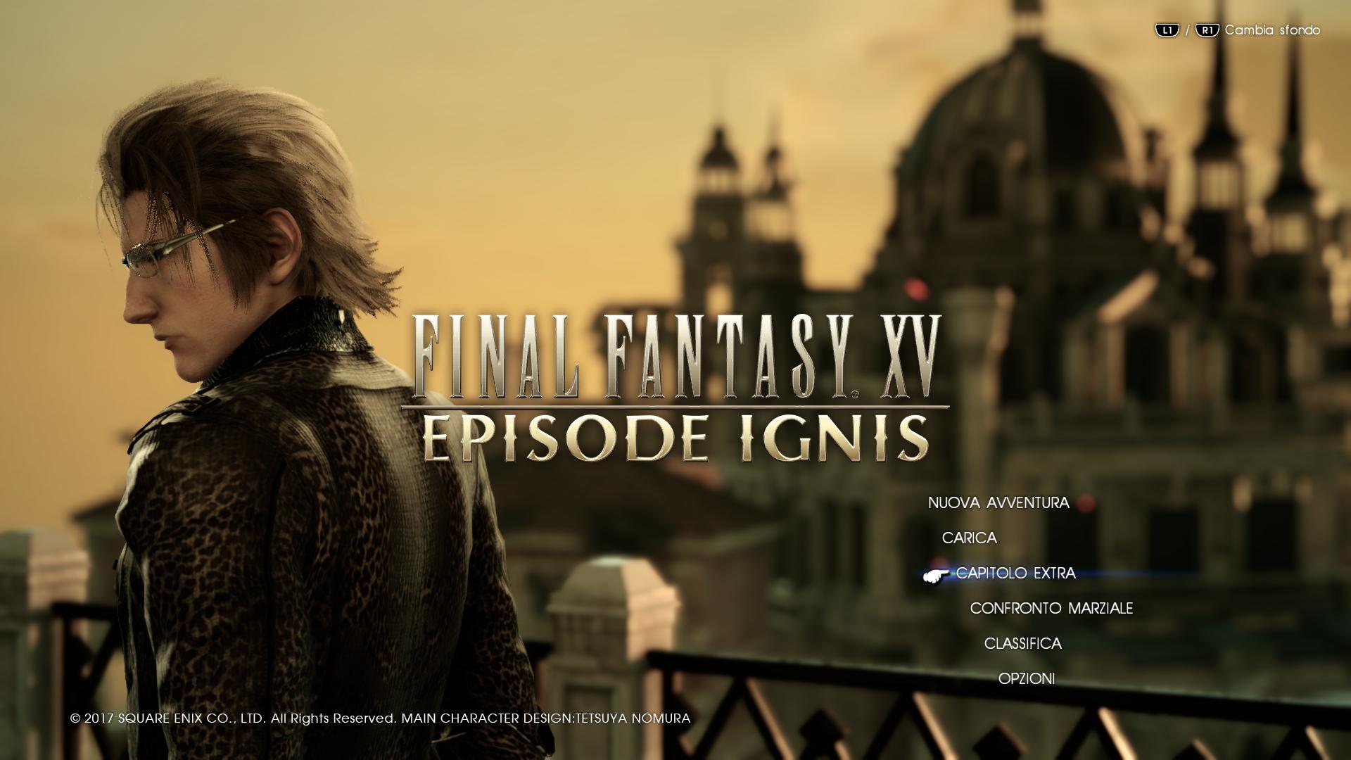 Patch 1.24 di Final Fantasy XV: nuovo outfit per Ignis e disponibilità ingame per le ricette del Carnevale!