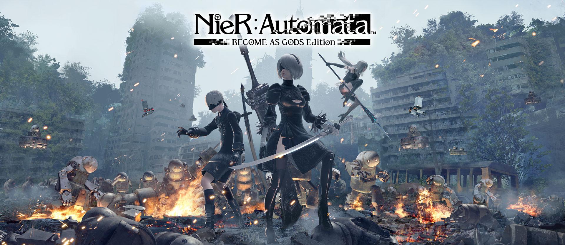 Rilasciato NieR:Automata BECOME AS GODS su Xbox One!
